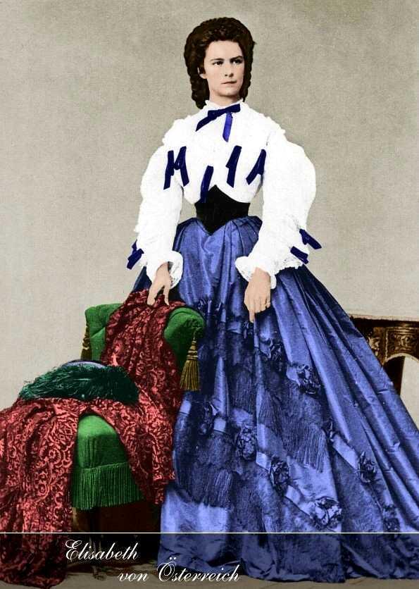 Elisabeth, emperatriz de Austria-Hungría Newcolor1forhpfini