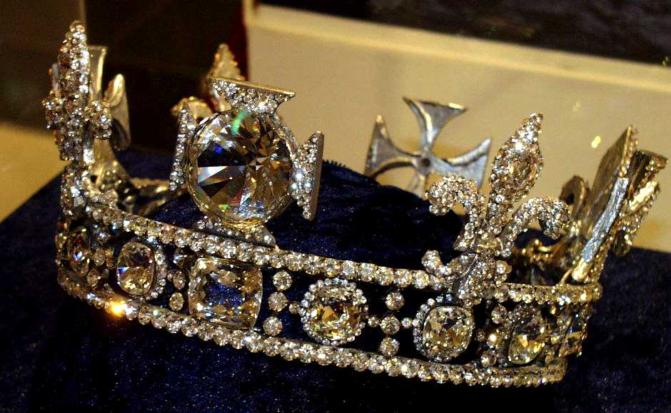 Queen Elizabeth 1 Jewelry Circlet with the koh-i-noor