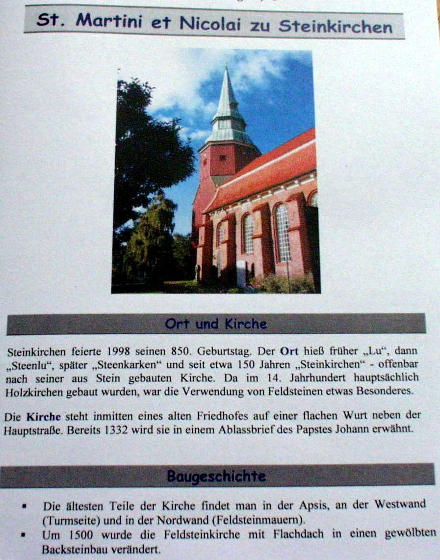 Church In Steinkirchen Naergi S Costuming Site