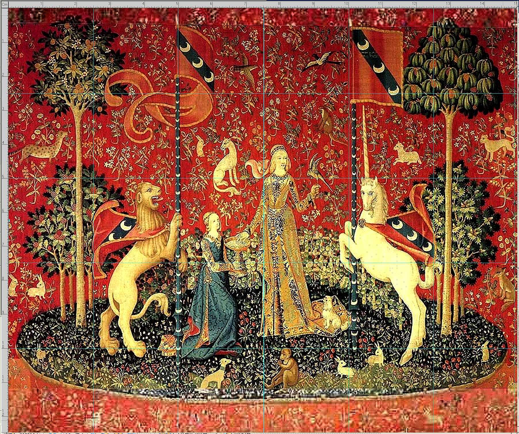Unicorn Tapestries Naergi S Costuming Site