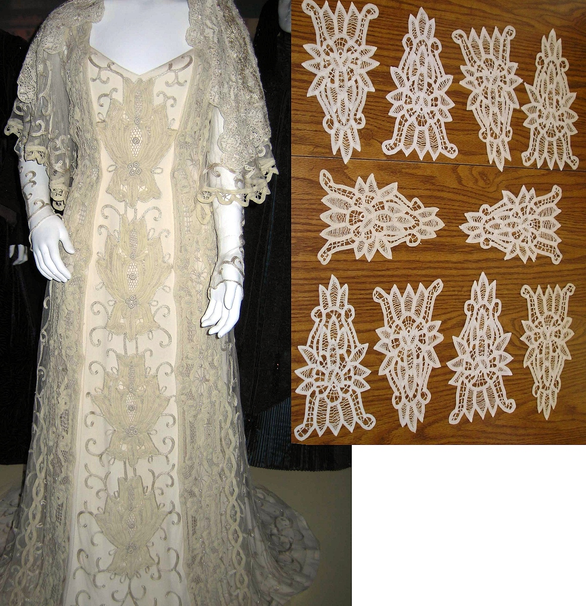 Star Wars – Padmé\'s Wedding Gown – Naergi\'s Costuming Site