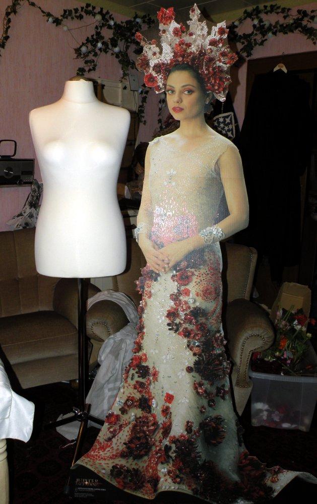 Jupiter Jones – Jupiter Ascending – Hochzeitskleid – Naergi\'s ...
